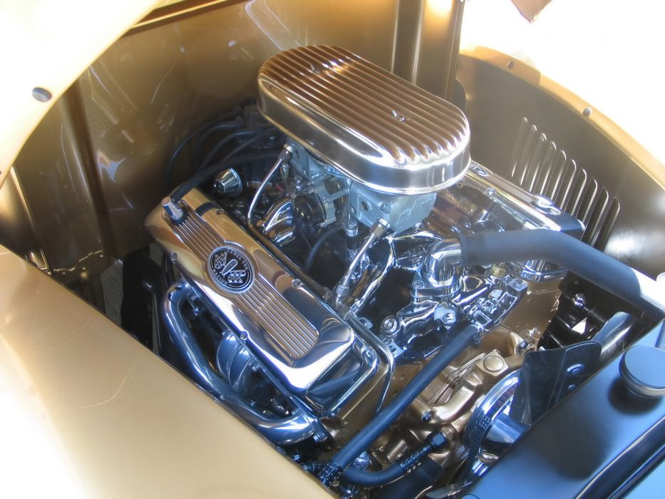 1940 Ford Pickup truck retro hot rod rods engine engines         e wallpaper