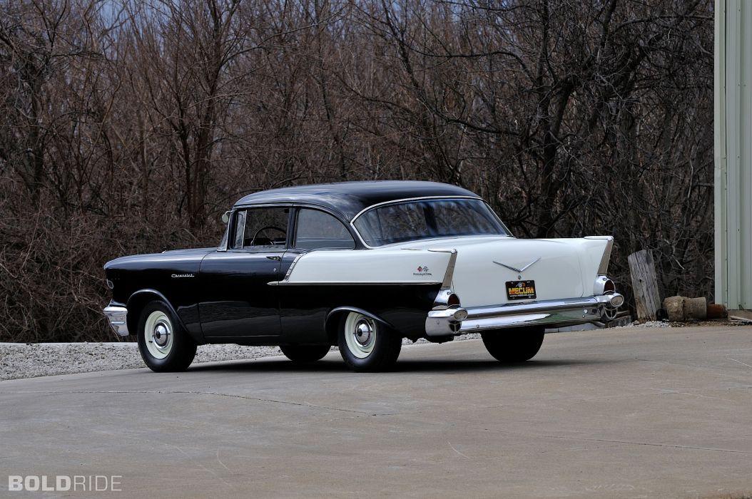 1957 Chevrolet 150 retro       f wallpaper