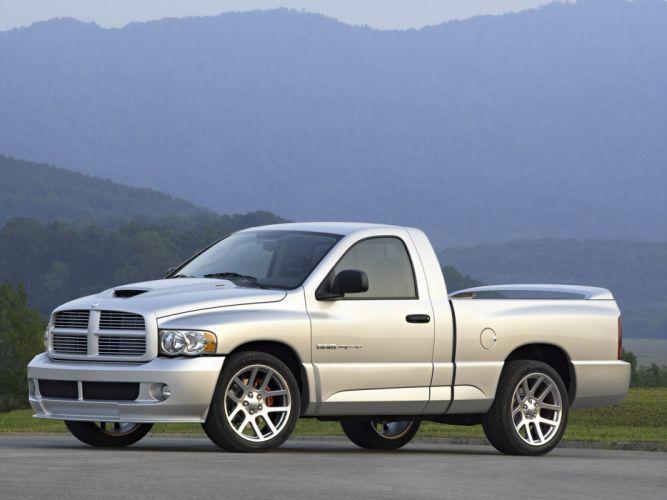 2004 Dodge Ram SRT-10 pickup truck muscle supertruck gd wallpaper