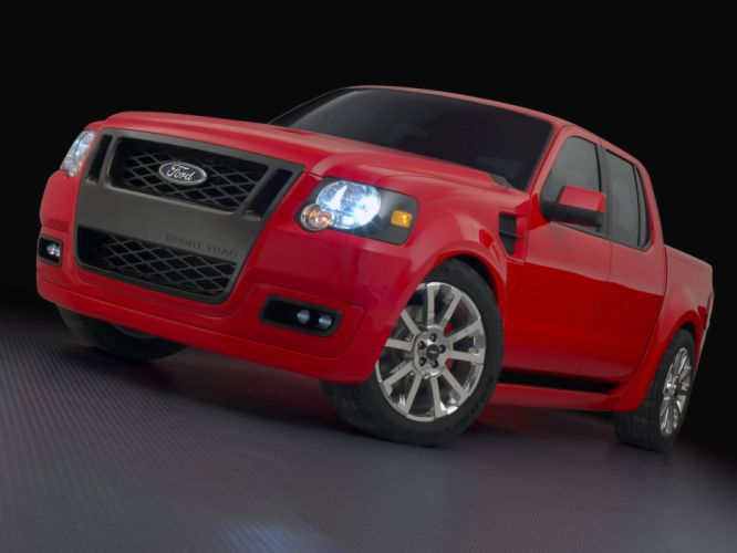 2005 Ford Sport Trac Adrenaline Concept pickup truck muscle supertruck s wallpaper