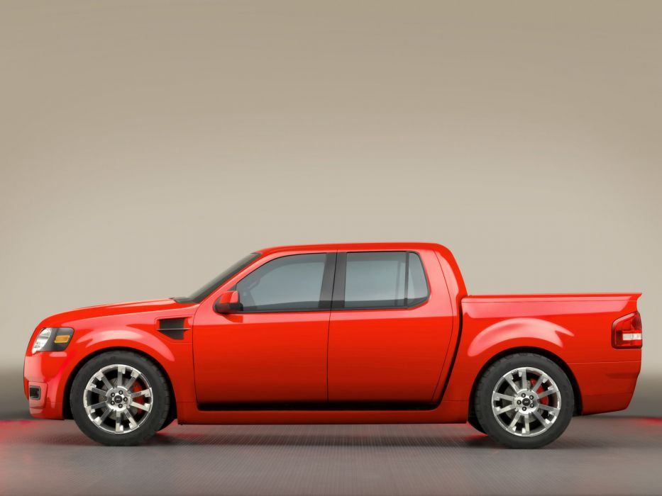2005 Ford Sport Trac Adrenaline Concept pickup truck muscle supertruck  h wallpaper