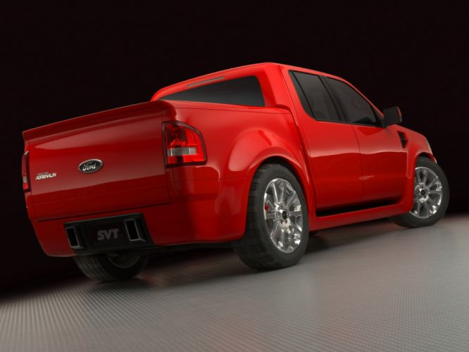 2005 Ford Sport Trac Adrenaline Concept pickup truck muscle supertruck wallpaper