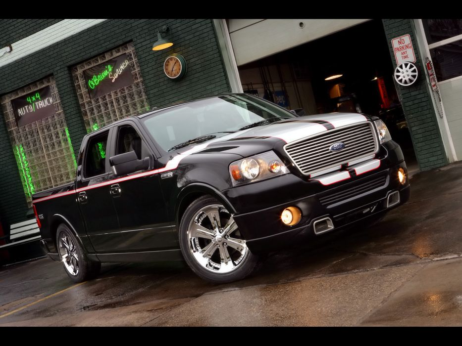 2008 Ford F-150 Foose pickup truck muscle tuning wheel wheels        g wallpaper