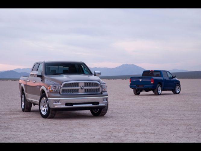 2009 Dodge Ram pickup truck wallpaper