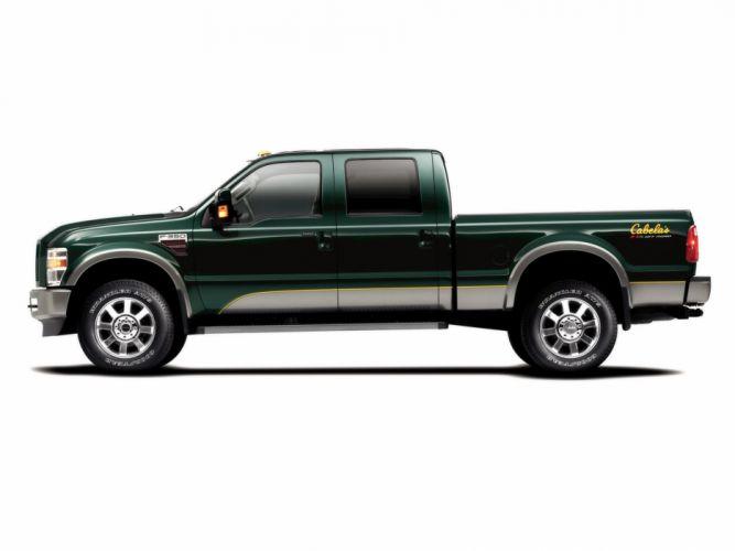 2009 Ford Super Cabela's FX4 pickup truck 4x4 f-350 g wallpaper