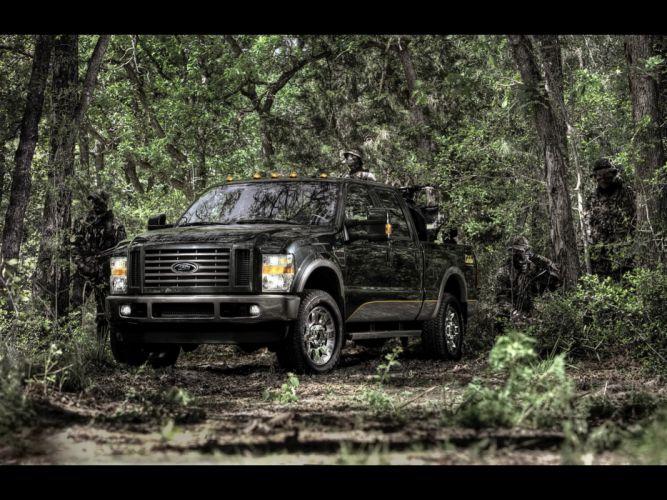 2009 Ford Super Cabela's FX4 pickup truck 4x4 f-350 wallpaper