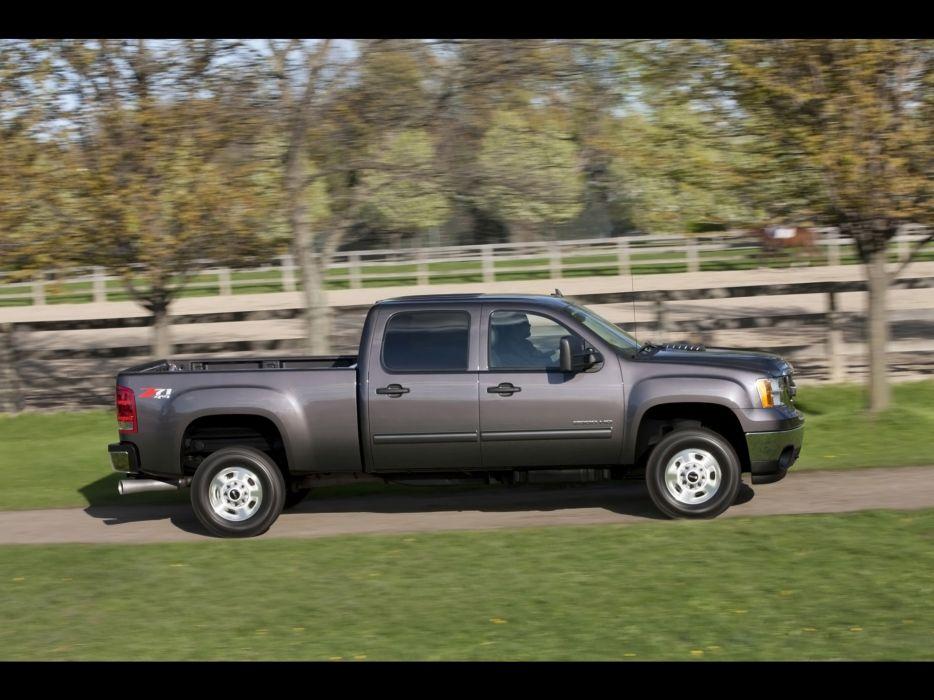 2011 GMC Sierra Heavy Duty pickup truck 4x4      h wallpaper