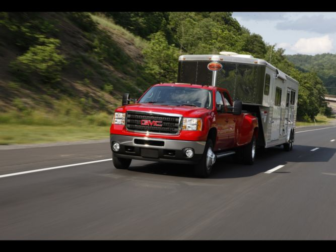 2011 GMC Sierra Heavy Duty pickup truck 4x4 f wallpaper
