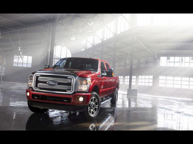 2013 Ford F-Series Super Duty Platinum pickup truck 4x4 i wallpaper