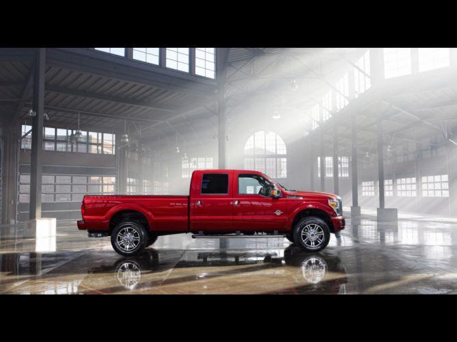 2013 Ford F-Series Super Duty Platinum pickup truck 4x4 y wallpaper