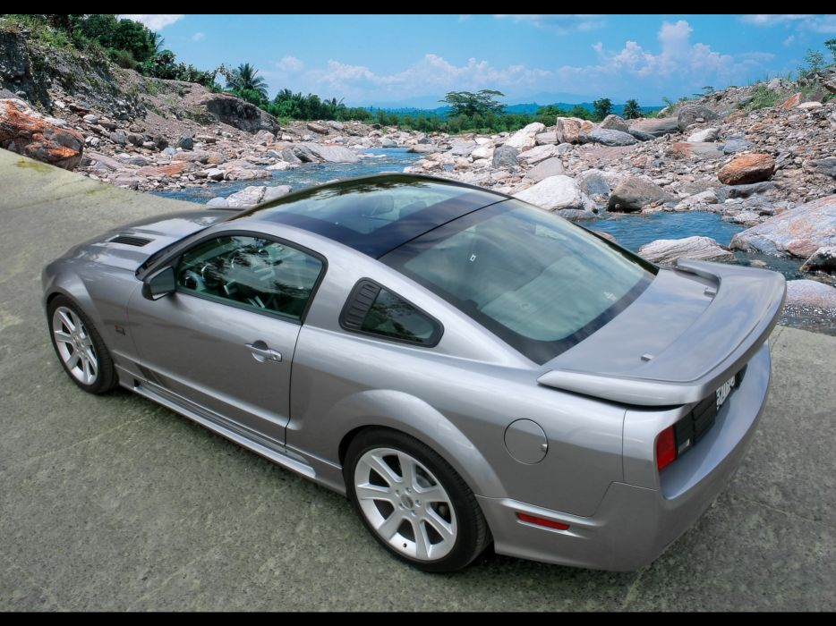2006 Saleen S281 Ford Mustang muscle wallpaper
