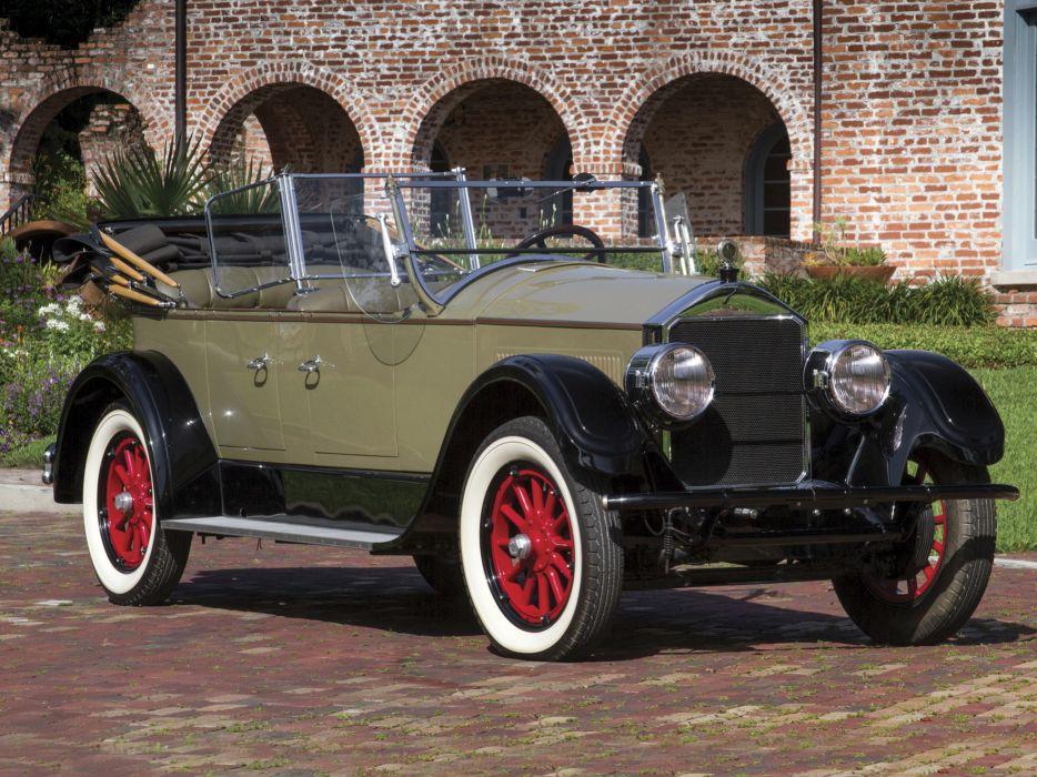 1927 Pierce-Arrow Model-80 Touring retro convertible wallpaper