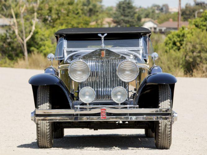 1929 Rolls Royce Phantom I Ascot Sport Phaeton luxury retro d wallpaper