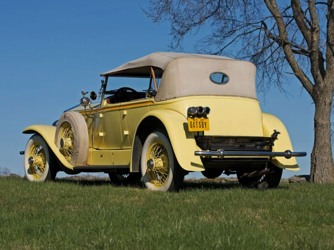 1929 Rolls Royce Phantom I Ascot Sport Phaeton luxury retro g wallpaper