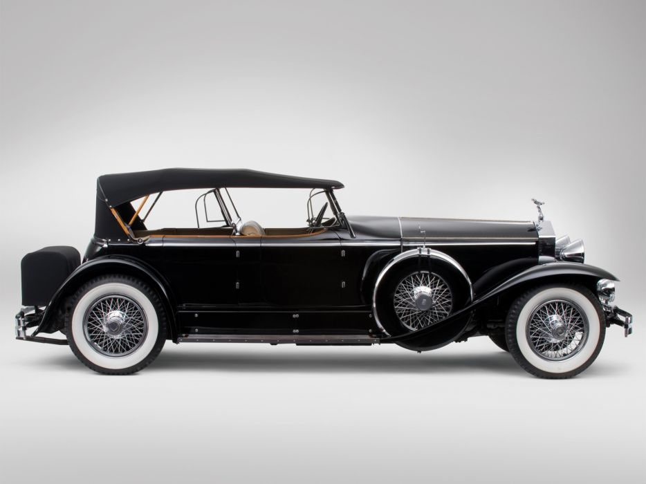 1929 Rolls Royce Phantom I Ascot Sport Phaeton luxury retro    gs wallpaper