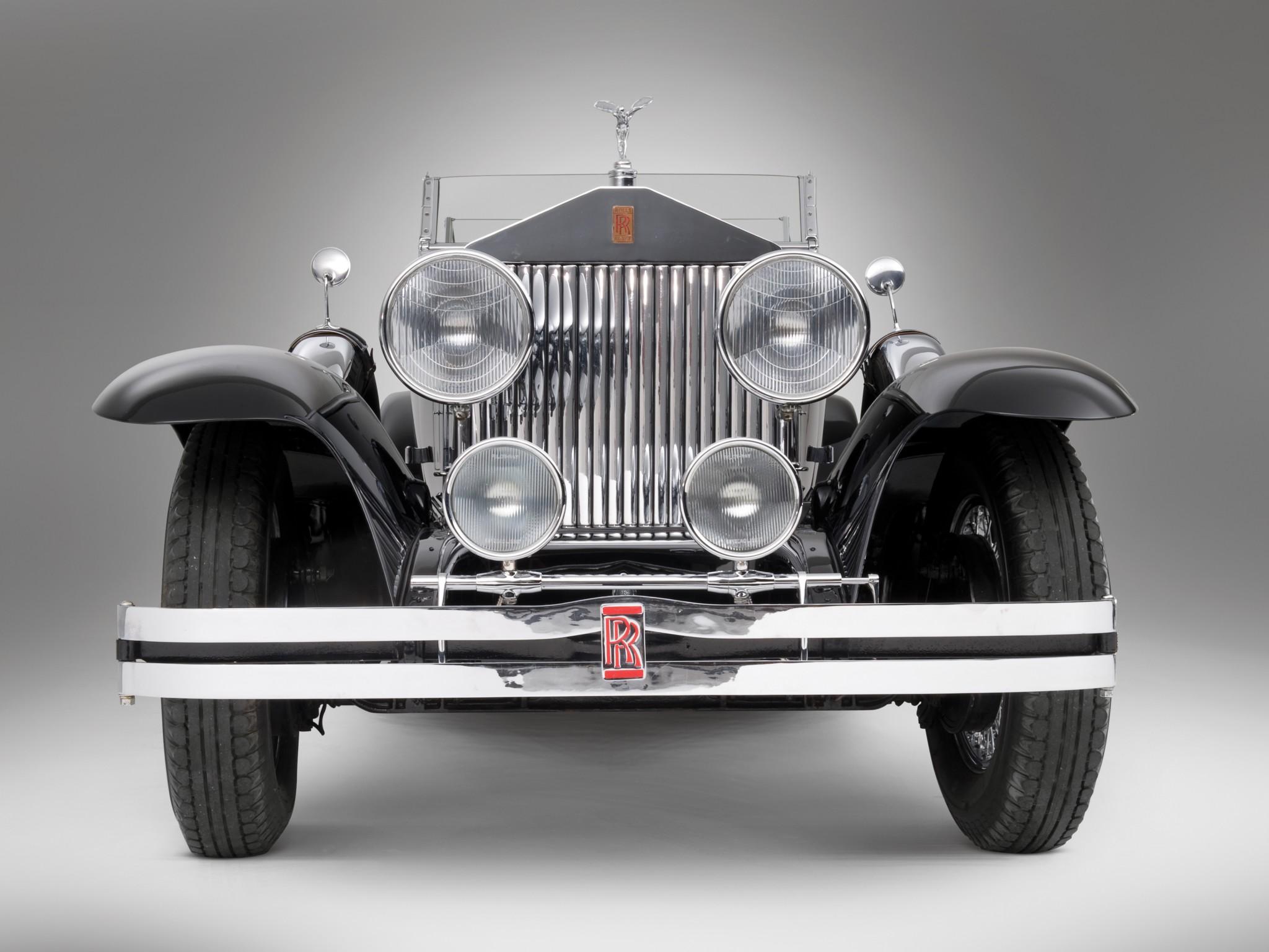 1929 Rolls Royce Phantom I Ascot Sport Phaeton luxury retro fg