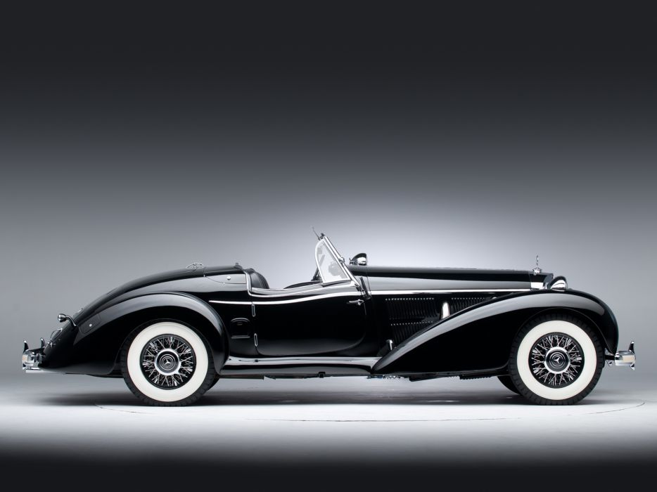 1939 Mercedes Benz 540K Special Roadster retro supercar supercars     gd wallpaper