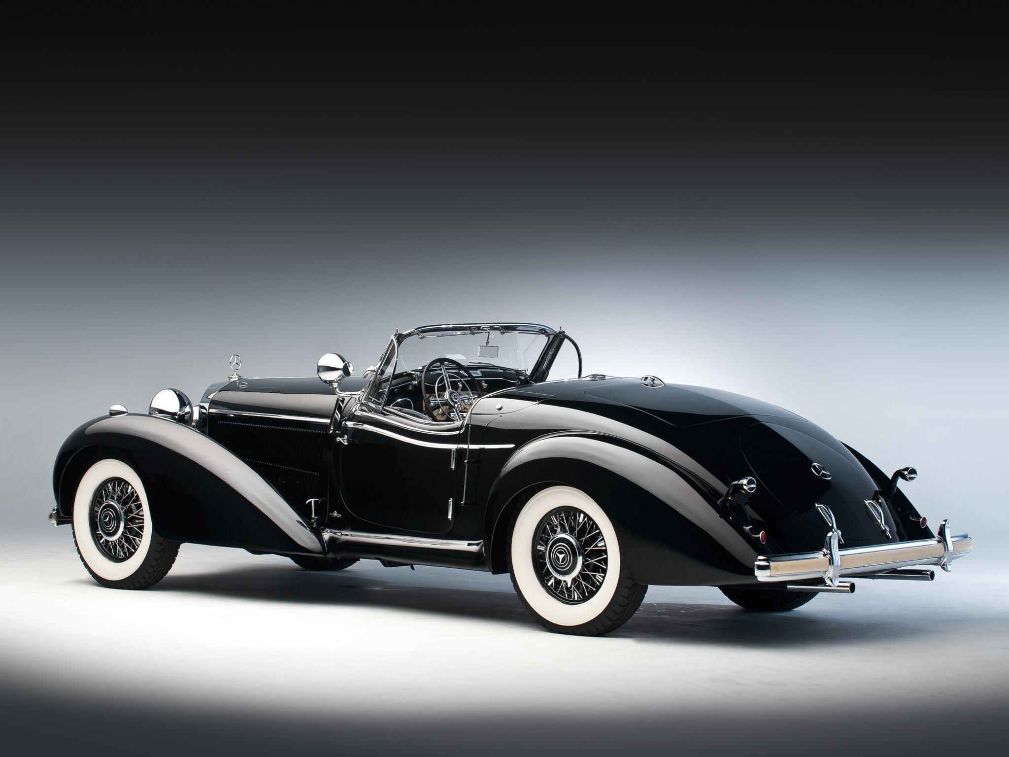 1939 Mercedes Benz 540k Special Roadster Retro Supercar