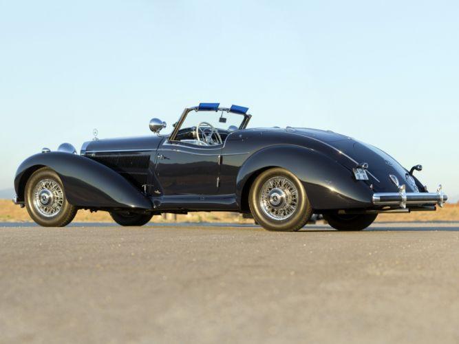 1939 Mercedes Benz 540K Special Roadster retro supercar supercars t wallpaper