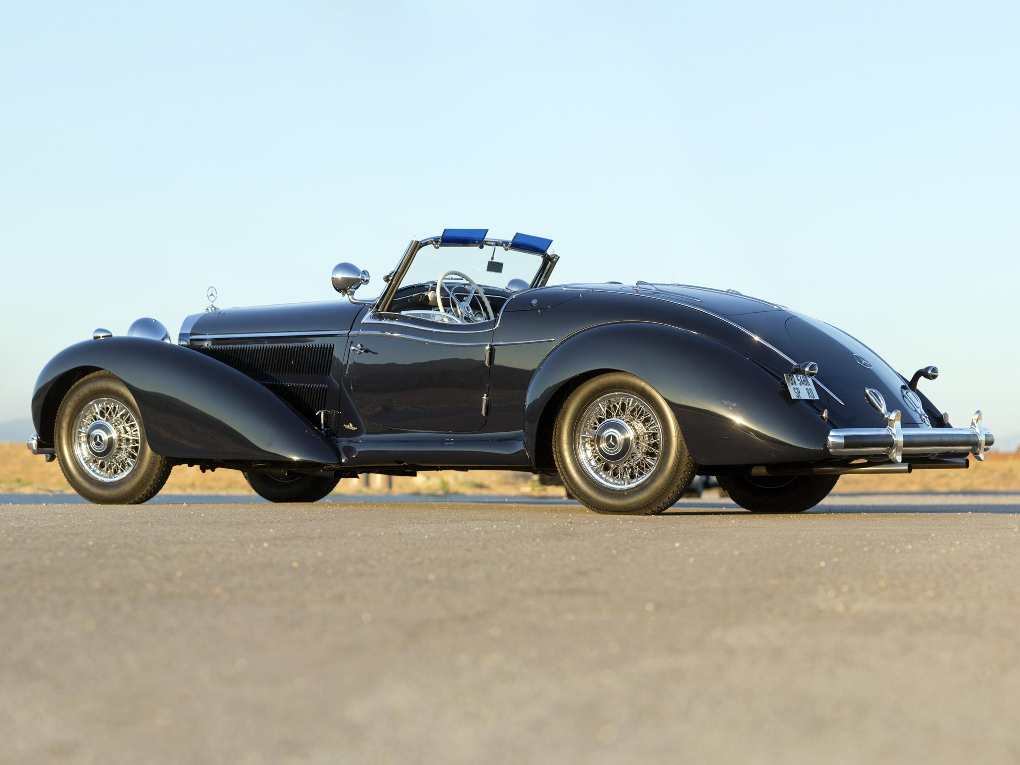 1939 mercedes benz 540k special roadster retro supercar - 2048 supercars ...