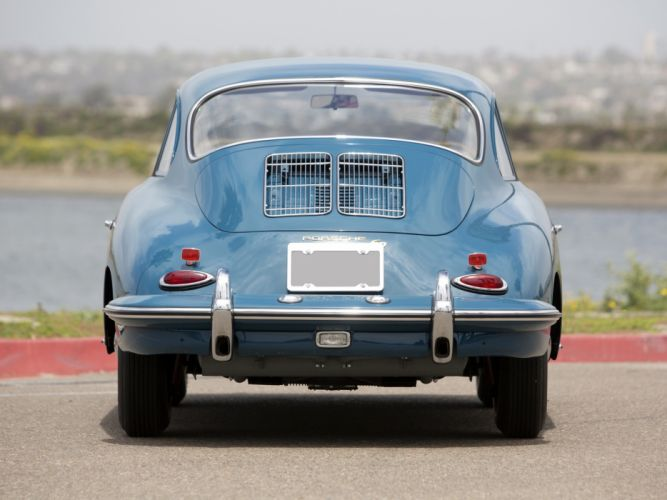 1963 Porsche 356B 1600 classic dg wallpaper