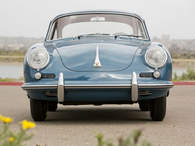 1963 Porsche 356B 1600 classic d wallpaper
