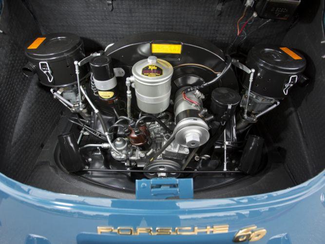 1963 Porsche 356B 1600 classic engine engines d wallpaper