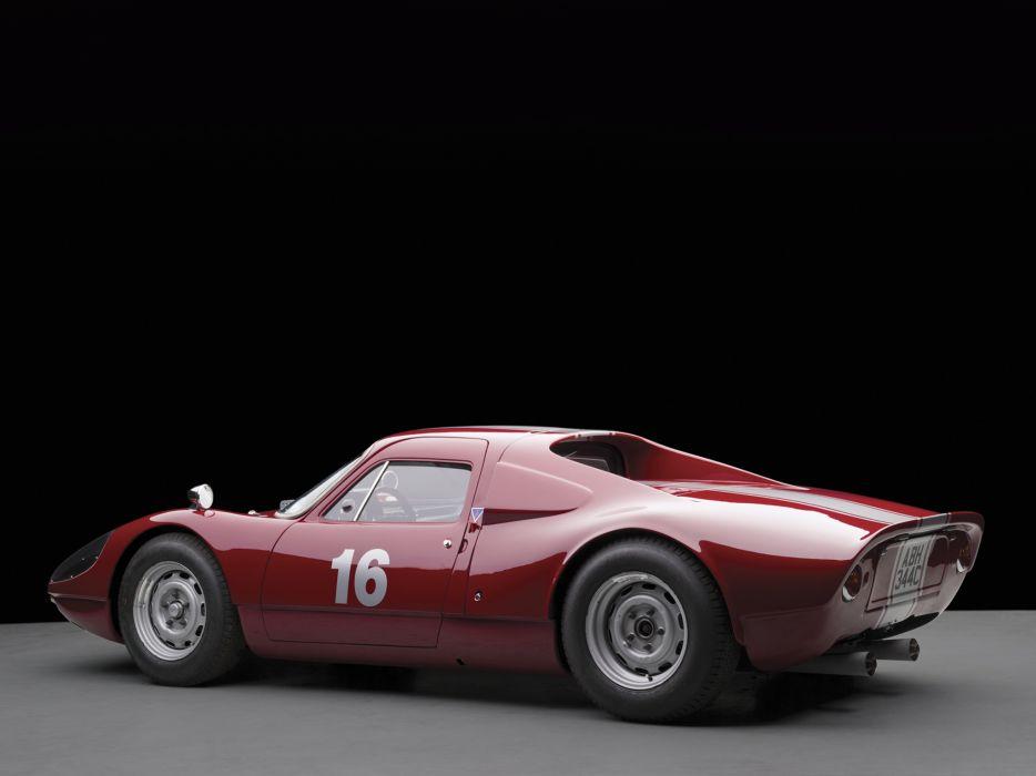 1963 Porsche 904-6 Carrera GTS Prototype 904 supercar supercars classic race racing     f wallpaper