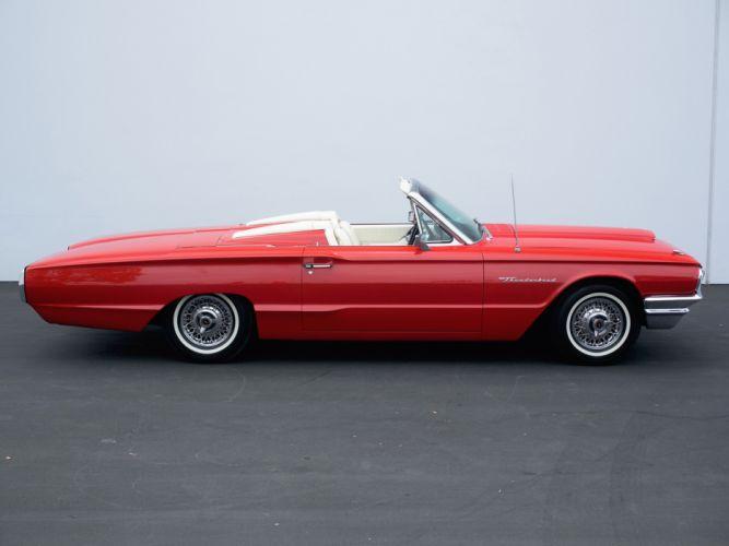 1964 Ford Thunderbird Convertible 76A classic f wallpaper