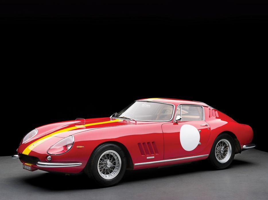 1966 Ferrari 275 GTB Competizione supercar supercars classic race racing      d wallpaper