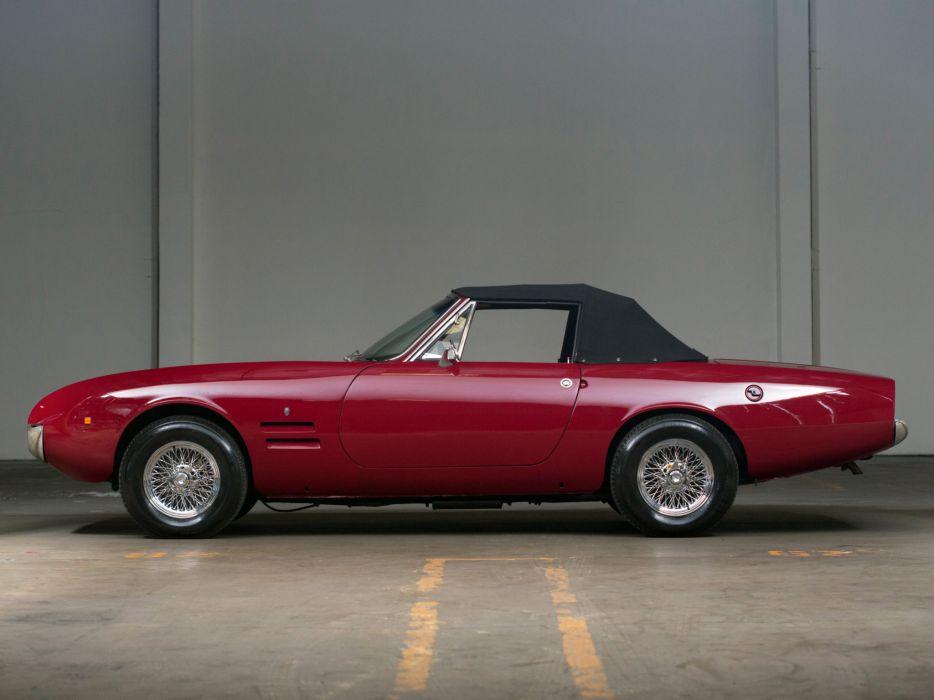 1966 Ghia 450-SS Sonvertible s-s convertible classic supercar supercars   d wallpaper