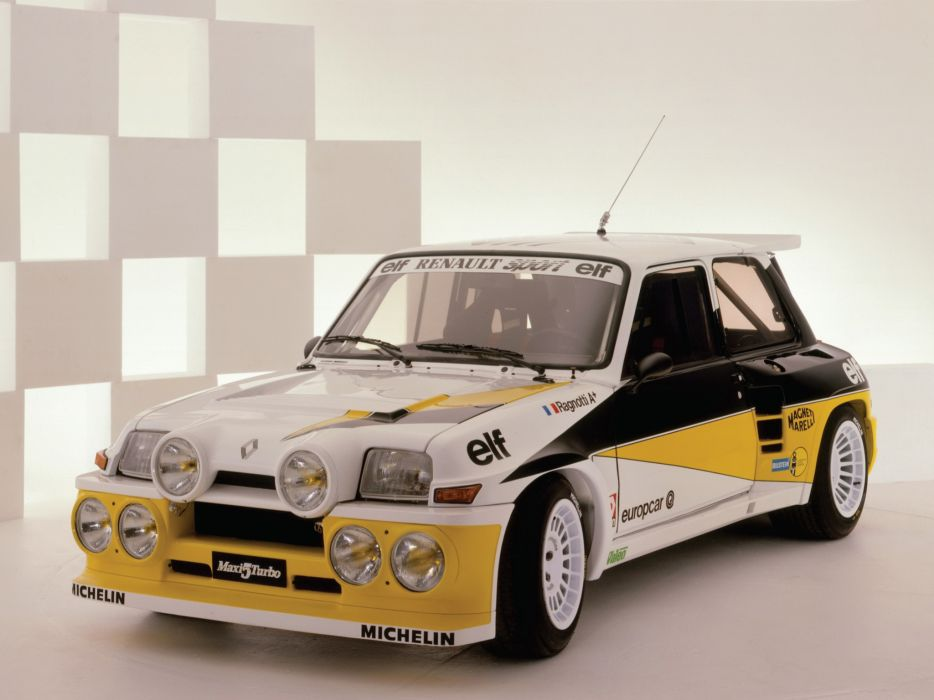 1981 Renault 5 Turbo Rally race racing five classic   d wallpaper