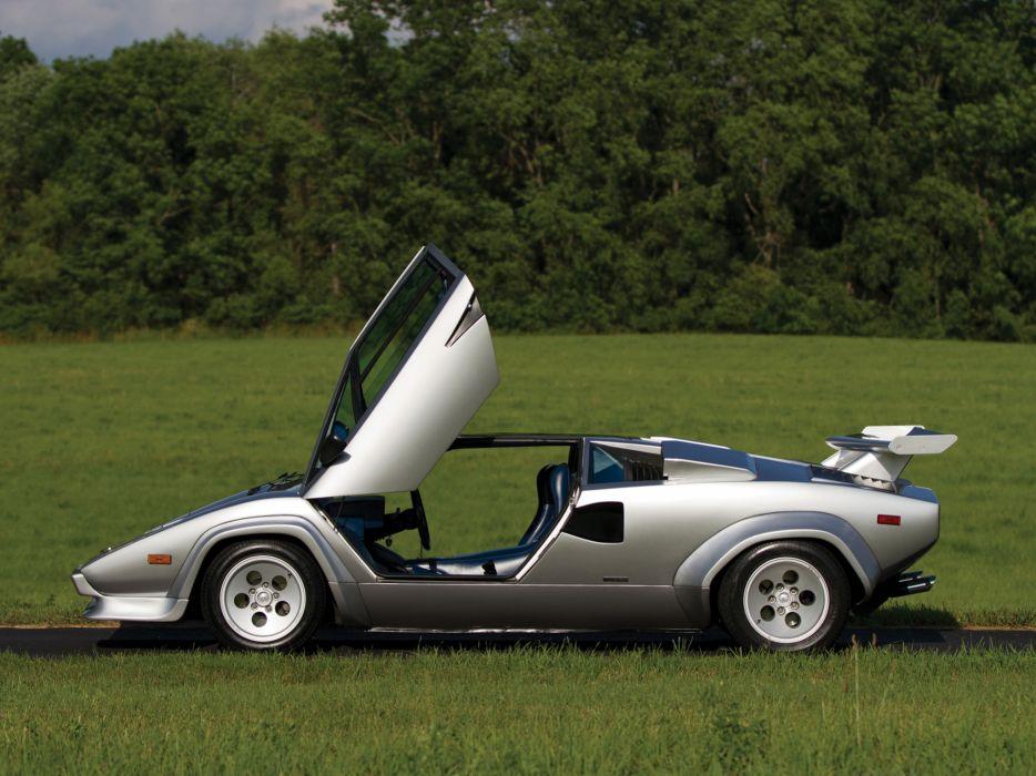 1982 Lamborghini Countach LP5000 S classic supercar supercars   g wallpaper