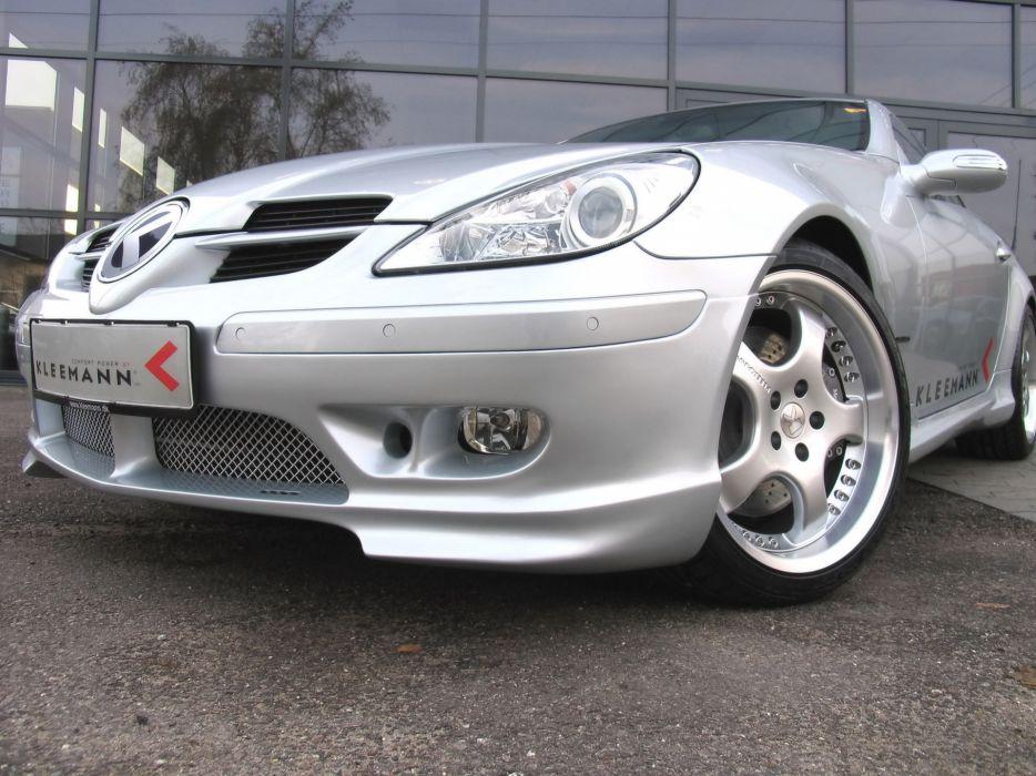 2006 Kleemann SLK 20K Mercedes Benz tuning supercar supercars wheel wheels wallpaper