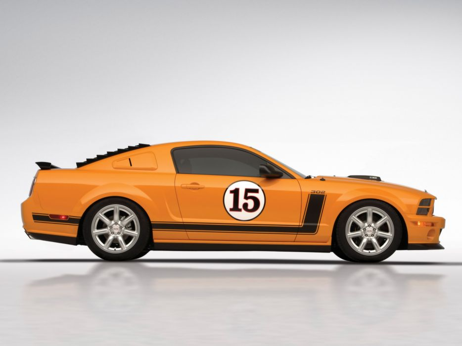 2007 Saleen 302 Parnelli Jones Ford Mustang muscle supercar supercars      n wallpaper