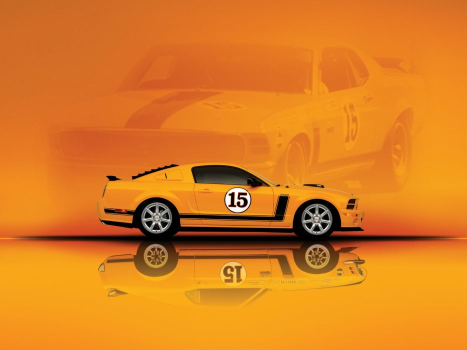 2007 Saleen 302 Parnelli Jones Ford Mustang muscle supercar supercars    h wallpaper