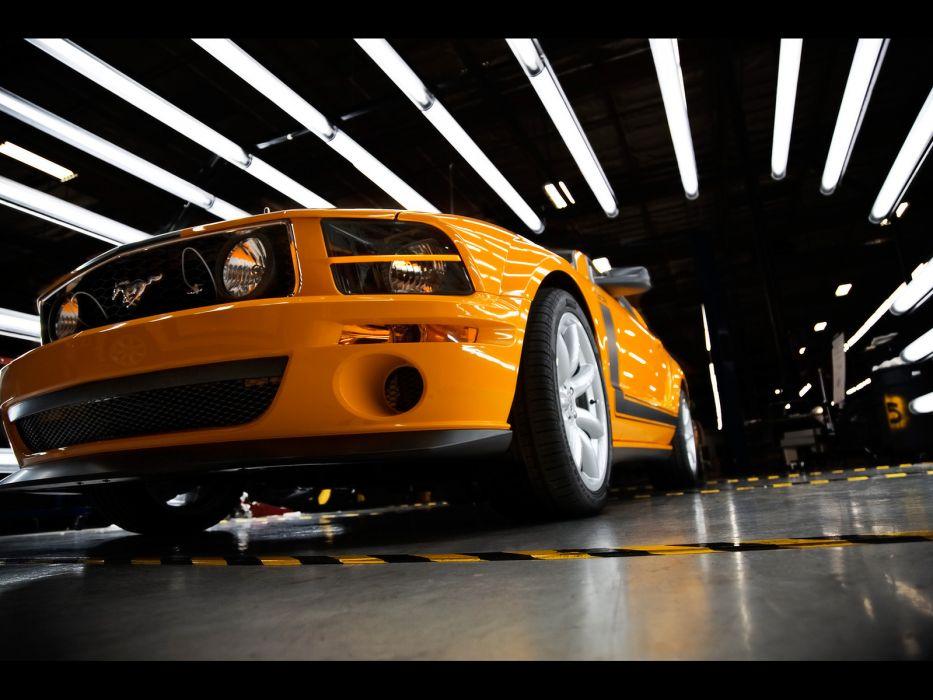 2007 Saleen 302 Parnelli Jones Ford Mustang muscle supercar supercars   gd wallpaper