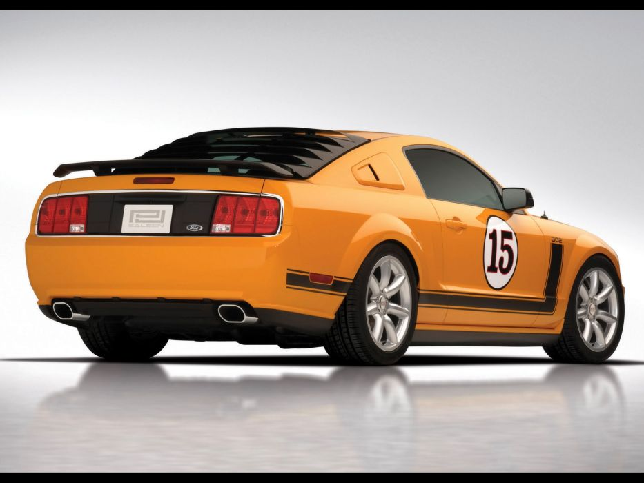 2007 Saleen 302 Parnelli Jones Ford Mustang muscle supercar supercars  g wallpaper