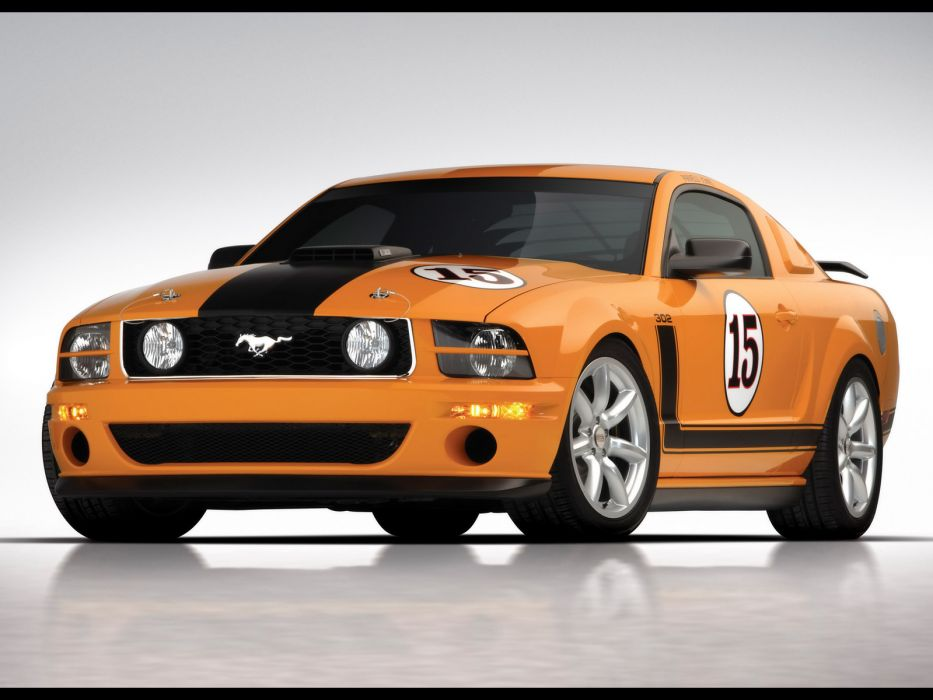 2007 Saleen 302 Parnelli Jones Ford Mustang muscle supercar supercars wallpaper