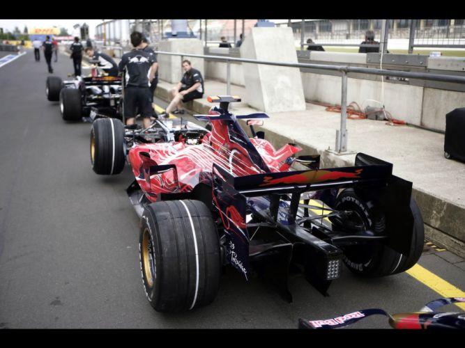 2007 Scuderia Torro Rosso STR2 formula one f-1 race racing ferrari d wallpaper