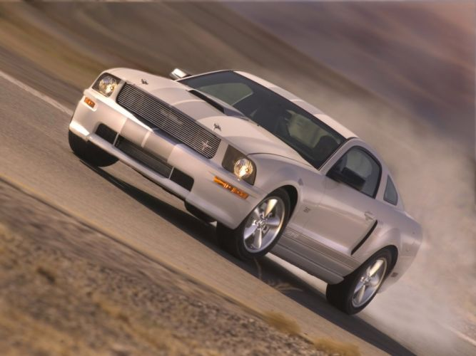 2007 Shelby G-T ford mustang muscle wallpaper