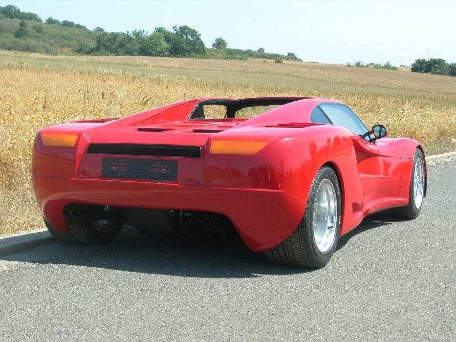 2008 KeiDesign Zefiro Concept supercar supercars wallpaper