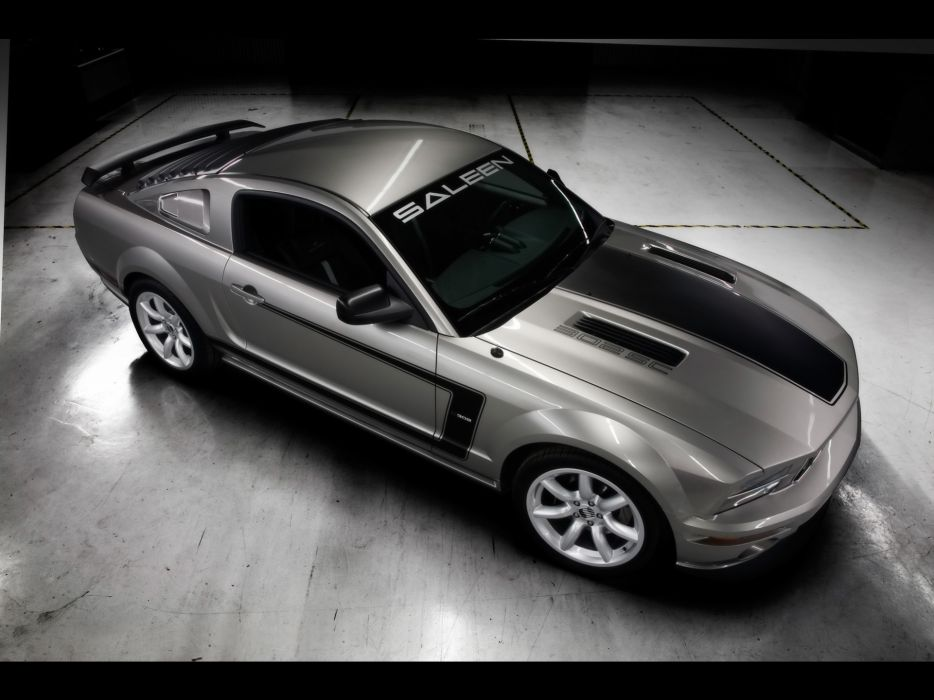 2008 Saleen H302SC ford mustang muscle supercar supercars g wallpaper