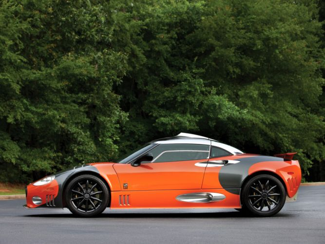 2009 Spyker C8 Laviolette LM85 supercars supercar f wallpaper