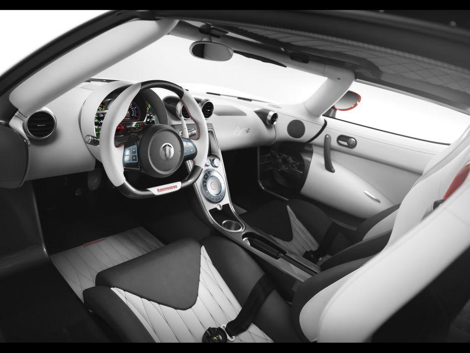 2011 Koenigsegg Agera R supercar supercars interior       g wallpaper