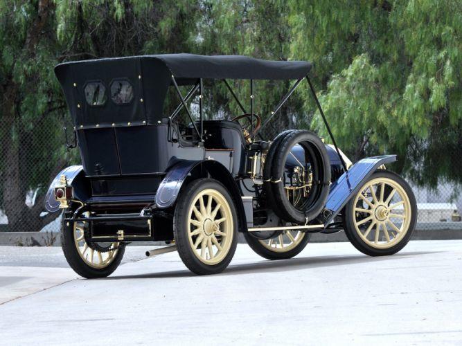 1909 Locomobile Model-40 Baby Tonneau retro d wallpaper