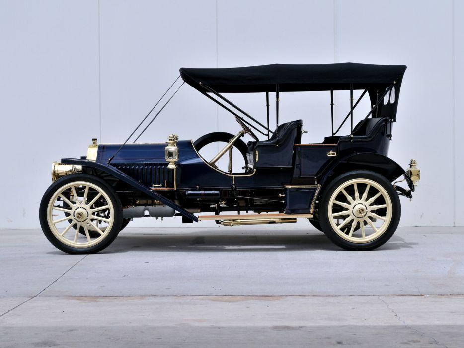 1909 Locomobile Model-40 Baby Tonneau retro wallpaper