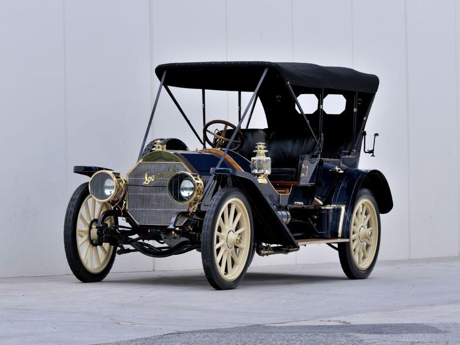 1909 Locomobile Model-40 Baby Tonneau retro j wallpaper