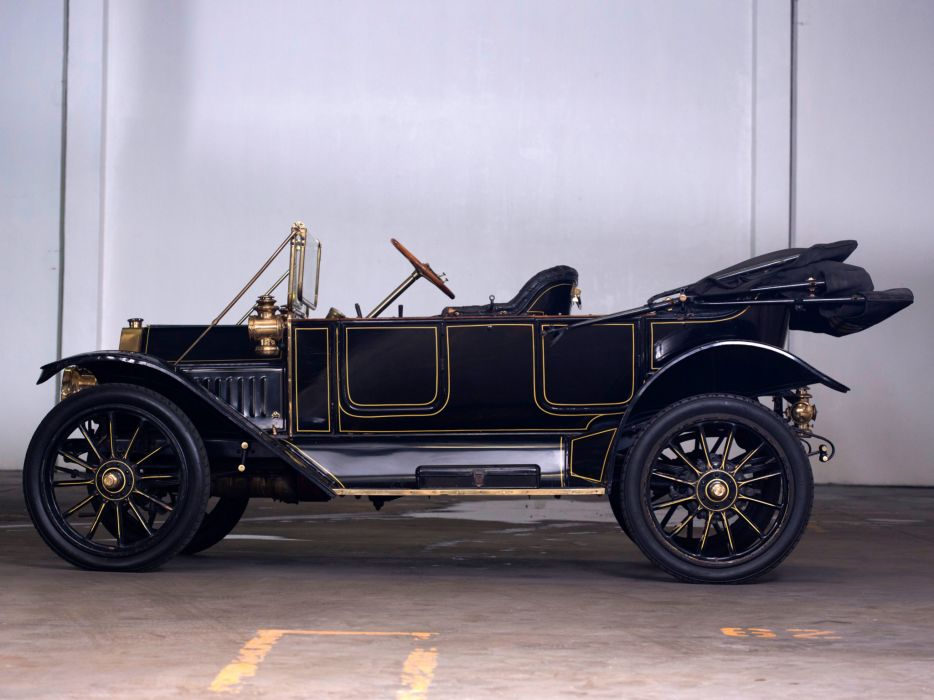 1912 Buick Model-35 Touring retro   g wallpaper