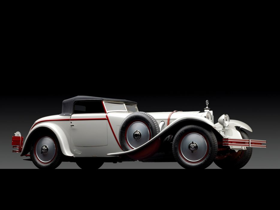 1928 Mercedes Benz 680S Torpedo Roadster Saoutchik retro supercar supercars      g wallpaper